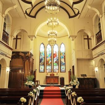 ◆GW限定特典あり◆【ステンドグラス×パイプオルガン】海外挙式のような教会見学