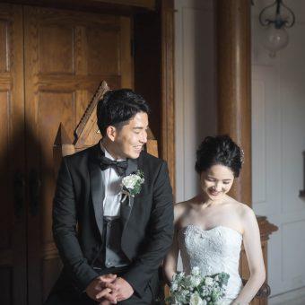 家族と迎える結婚式
